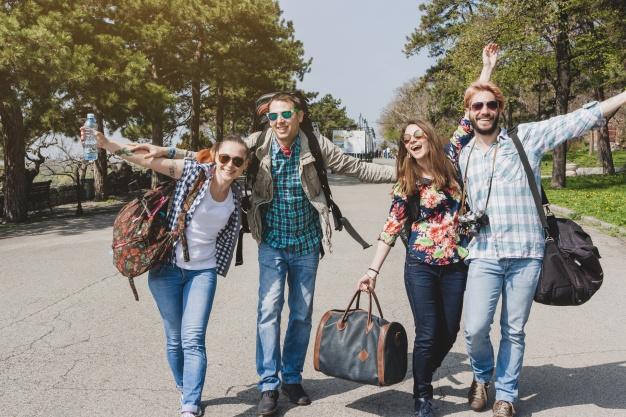 Photo of Friends having fun.