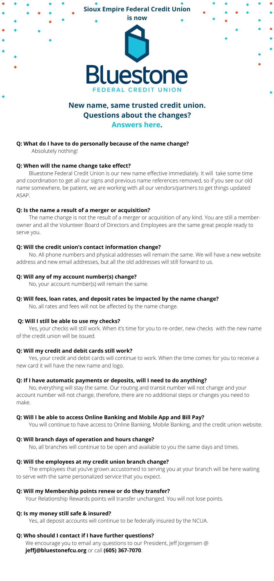 Bluestone FAQs